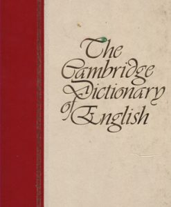 the-cambridge-dictionairy