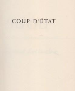 COUP-D-ETAT