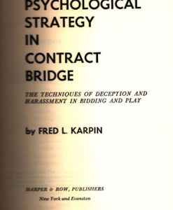 PSYCHOLOGICAL-STRATEGY-IN-CONTRACT-BRIDGE-KARPIN-FRED