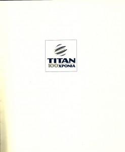 titan 100 xronia