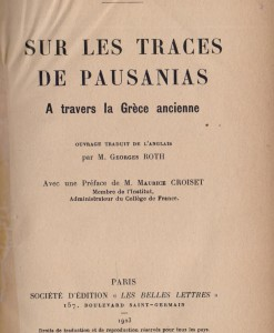 sur le traces du pausanias