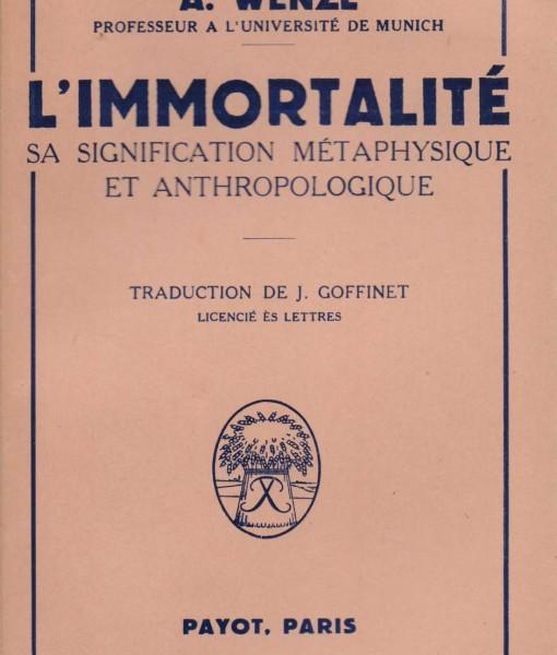 L IMMORTALITE